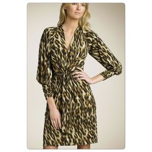Laundry by Shelli Segal Cheetah Dress sz Small
